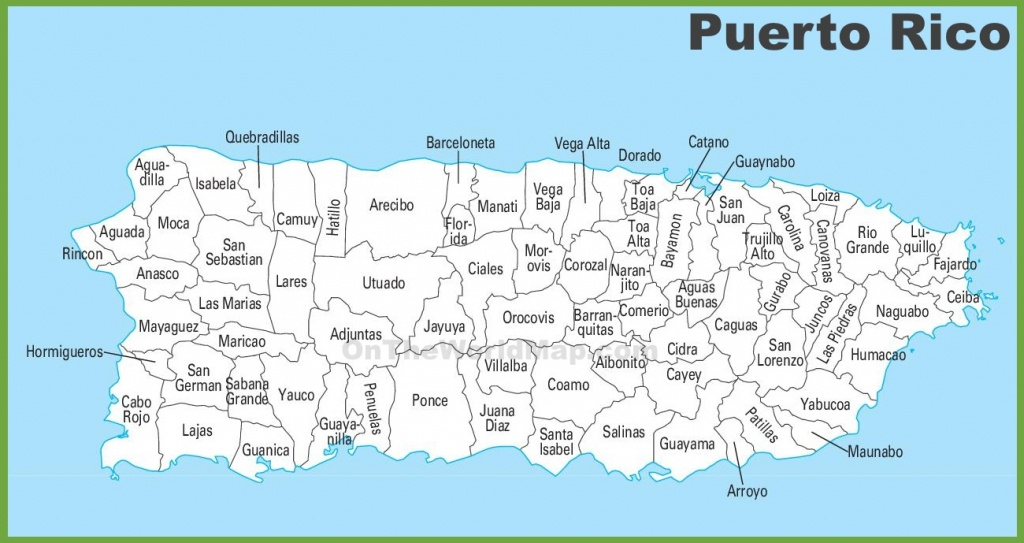 Puerto Rico Maps   Maps Of Puerto Rico - Free Printable Map Of Puerto Rico
