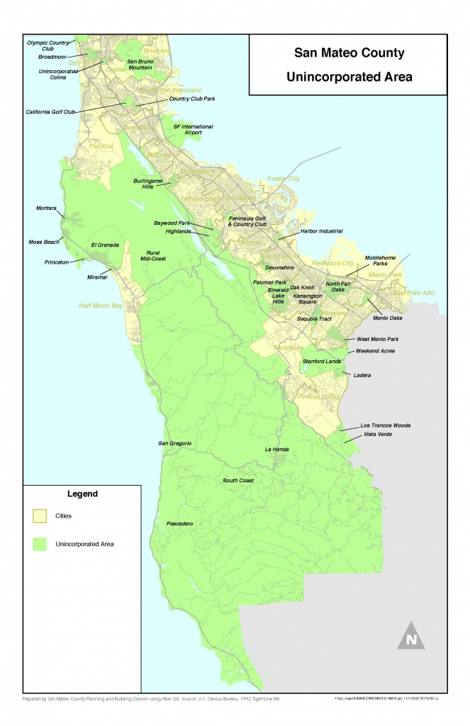 Purchasing Or Selling A Home In An Unincorporated Area Of San Mateo - San Mateo California Map
