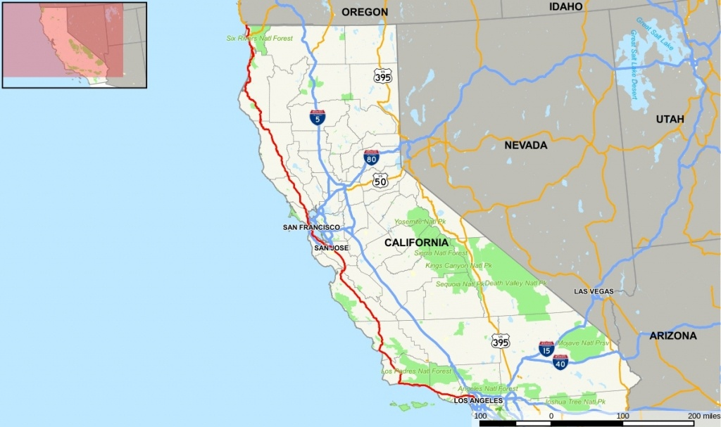 Px U S Route In California Map Svg Picture Gallery For Website With - California Toll Roads Map