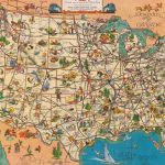"Quite Interesting On Twitter: ""a 1935 'good Natured Map' Of   Greyhound Map California"