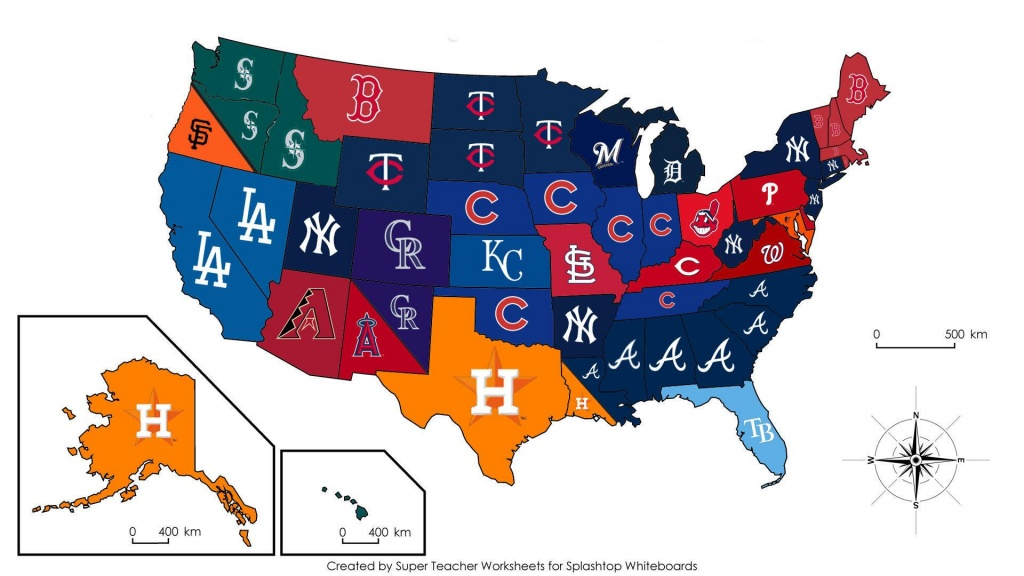 R/baseball Survey - Team Support Map : Baseball - California Baseball Teams Map