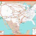 Rail Network Maps | Bnsf   Texas State Railroad Route Map