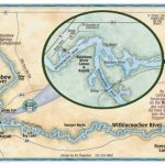 Rainbow River Map Rainbow Springs Map Withlacoochee River Map   Springs Map Florida