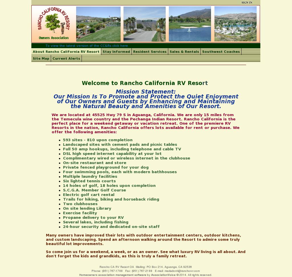 Rancho California Rv Resort Competitors, Revenue And Employees - Rancho California Rv Resort Site Map