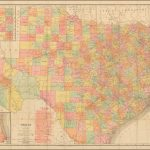 Rand Mcnally & Co.'s Indexed County And Railroad Pocket Map And   Rand Mcnally Texas Road Map
