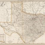 Rand Mcnally & Co.'s Texas   Barry Lawrence Ruderman Antique Maps Inc.   Rand Mcnally Texas Road Map