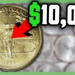Rare State Quarters Worth Money   Error Quarters To Look For!!   Youtube   Us Quarter Map Printable