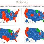 Reciprocity   Chandler's Conceal & Carry   Florida Reciprocity Concealed Carry Map