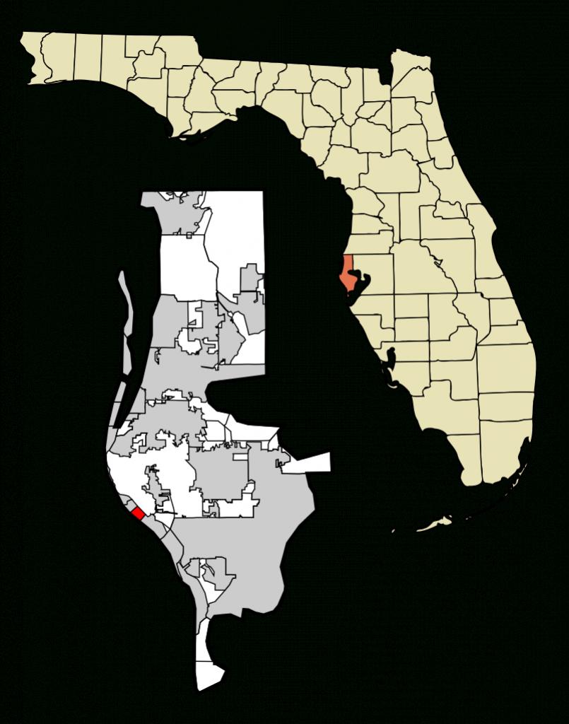 Redington Beach - Redington Beach Florida Map