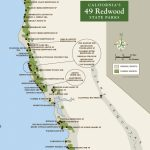 Redwood Parks Day Passes 'sold Out' (2015) | Save The Redwoods League   California Redwoods Map