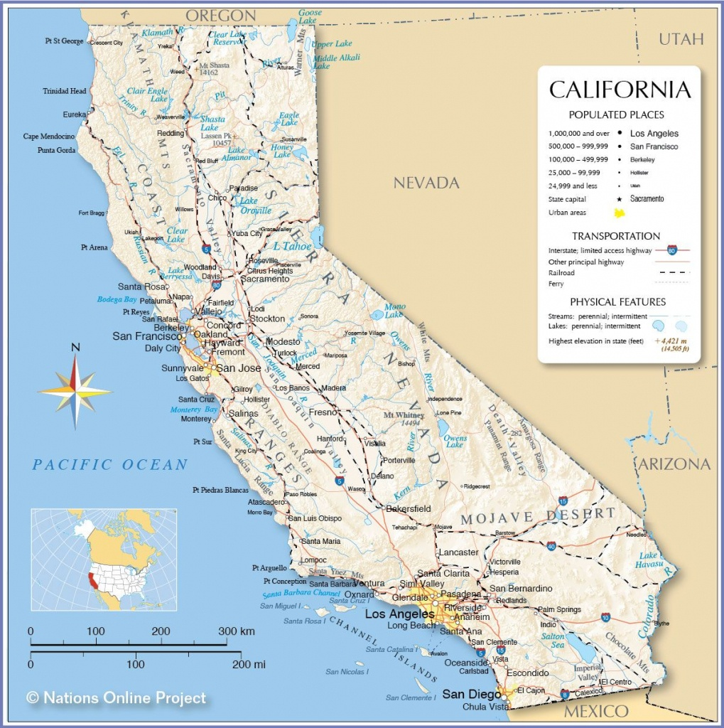 Reference Map Of California | California | California Map - Google Maps California Cities