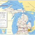 Reference Map Of Michigan, Usa - Nations Online Project   ~ The - Printable Map Of Michigan