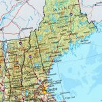 Reference Map Of New England State, Ma Physical Map | Crafts   Printable Map Of New England States