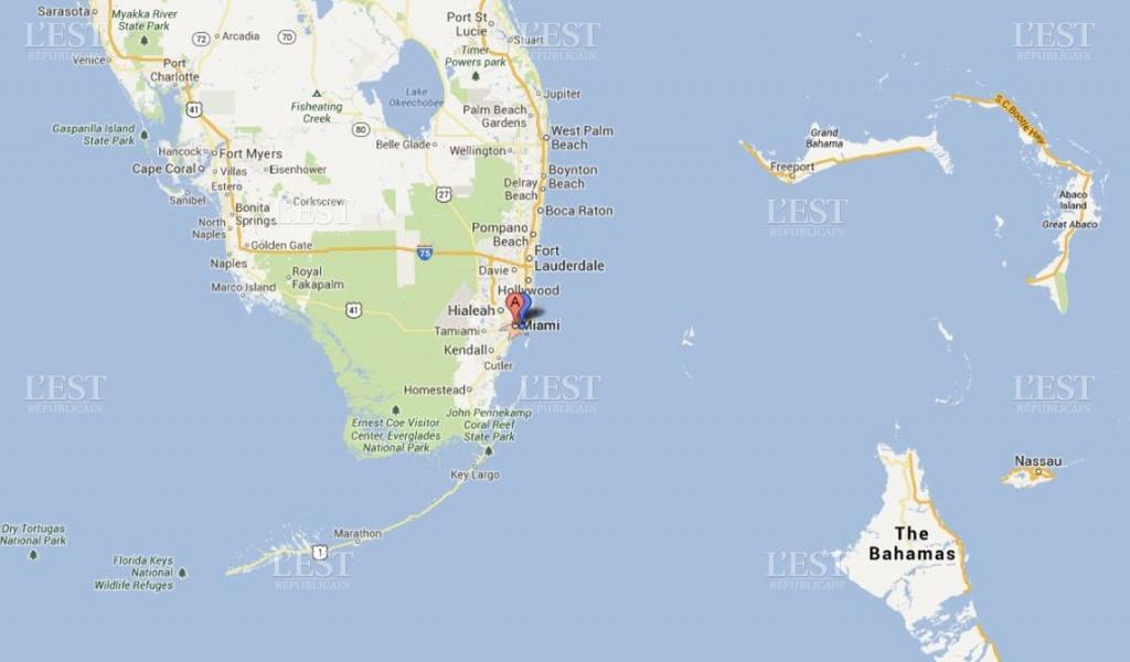 Région Franche-Comté | Un Comtois Se Noie À Miami - Google Maps Cape Coral Florida