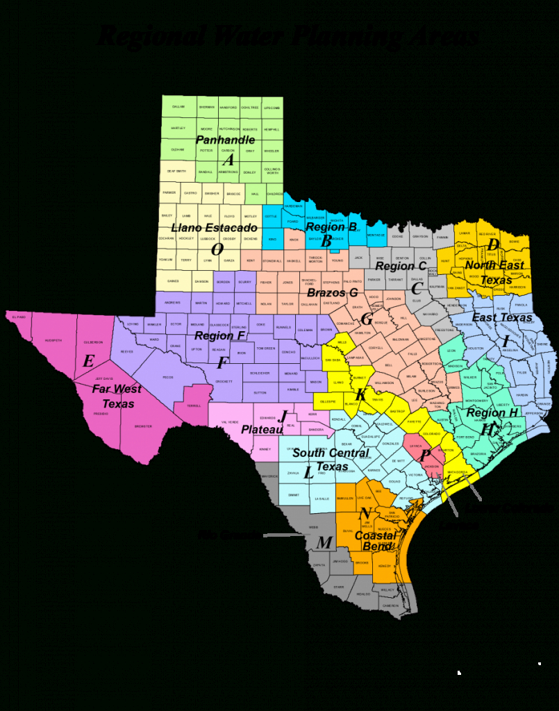Region Map Of Texas And Travel Information | Download Free Region - Texas Dps Region Map