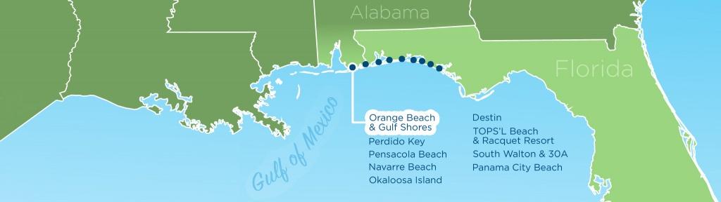 Resortquest Real Estate | Nw Fl & Al Gulf Coast Condos And Homes For - Denton Florida Map