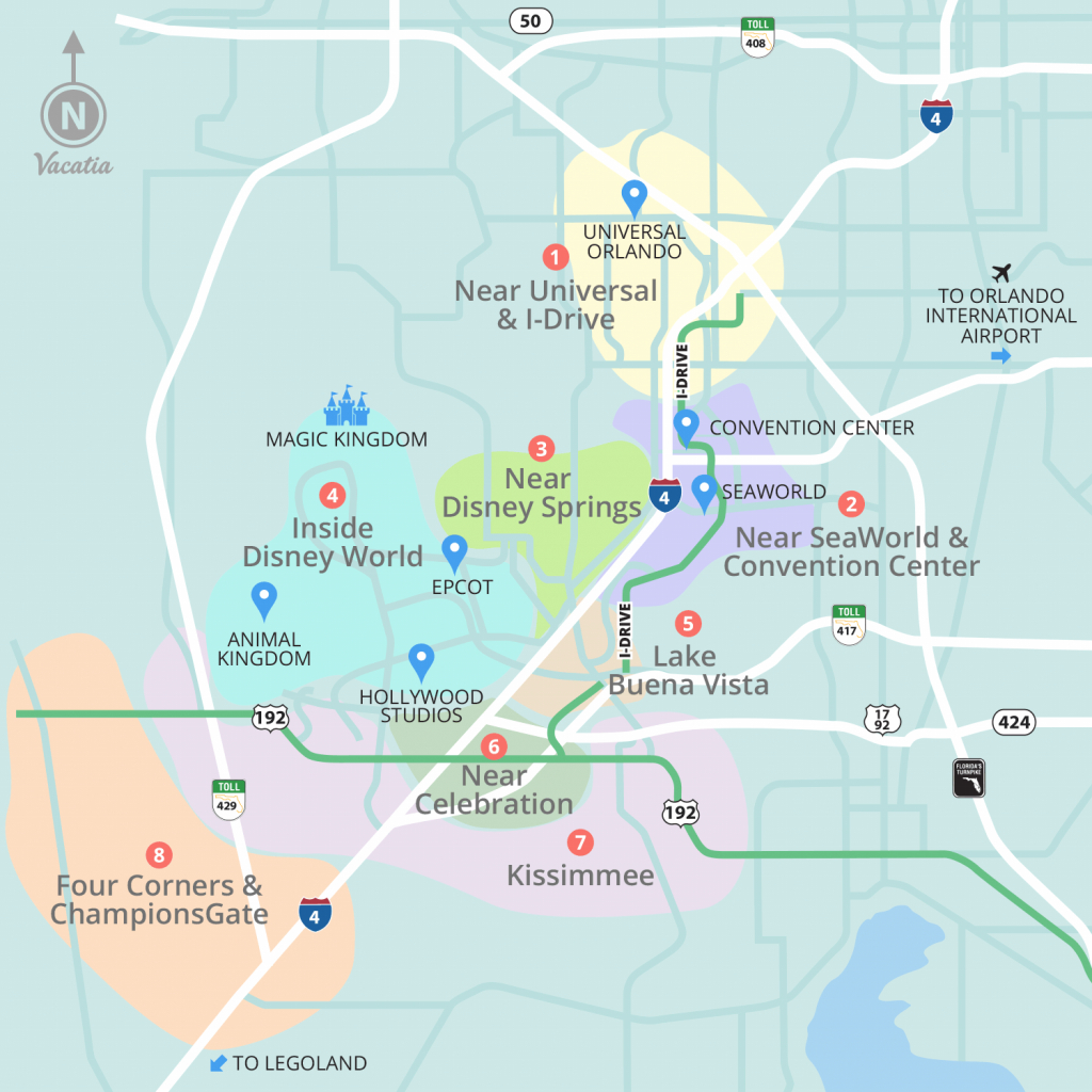 Resorts Near Disney World Orlando | Vacatia - Champions Gate Florida Map