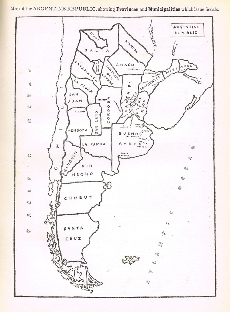 Revenue Stamps Of Argentina - Wikipedia - Printable Map Of Argentina