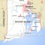 Rhode Island Maps   Printable Map Of Rhode Island