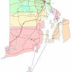 Rhode Island Printable Map   Printable Map Of Rhode Island