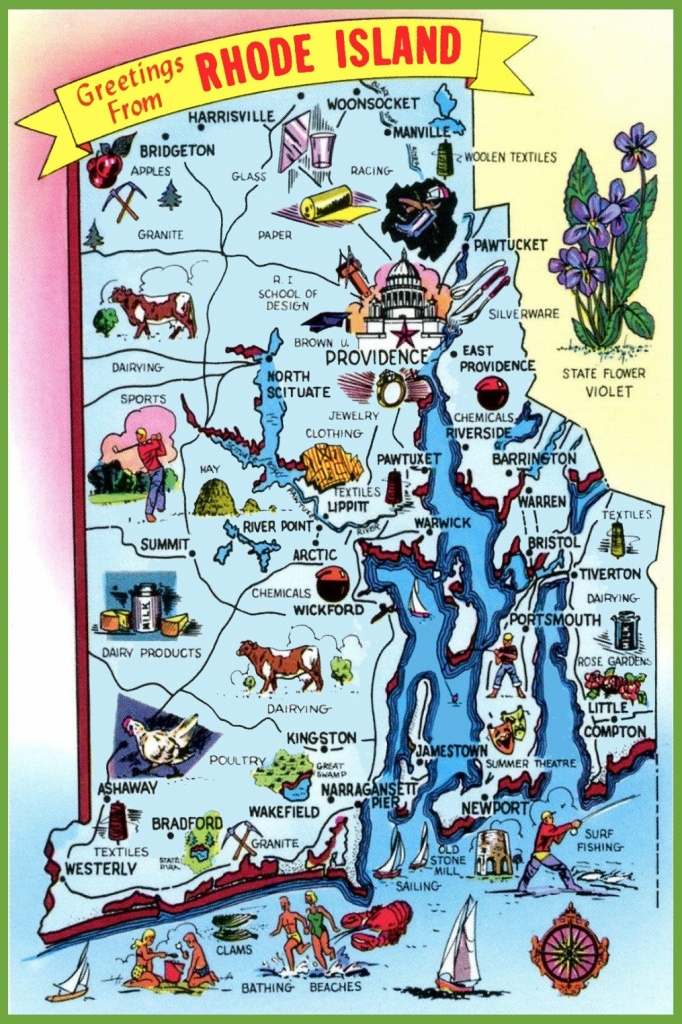 Rhode Island State Maps | Usa | Maps Of Rhode Island (Ri) - Printable Map Of Rhode Island