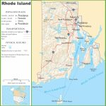 Rhode Island State Maps | Usa | Maps Of Rhode Island (Ri)   Printable Map Of Rhode Island