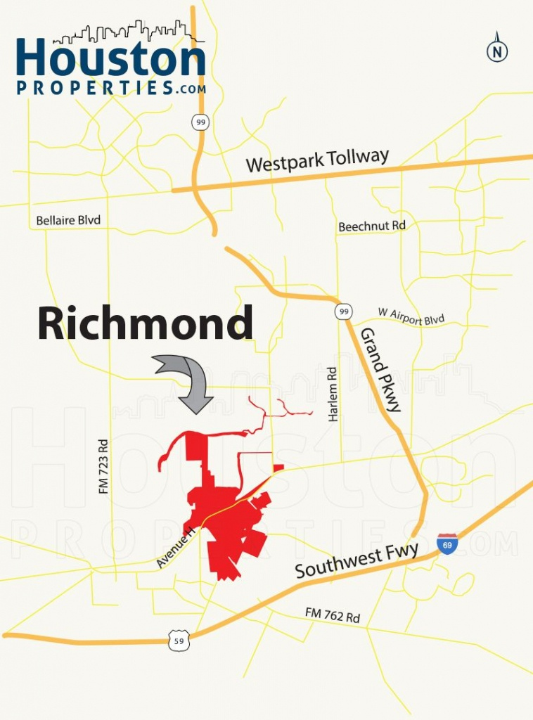 Richmond Tx Map | Great Maps Of Houston | Richmond Homes, Richmond - Richmond Texas Map