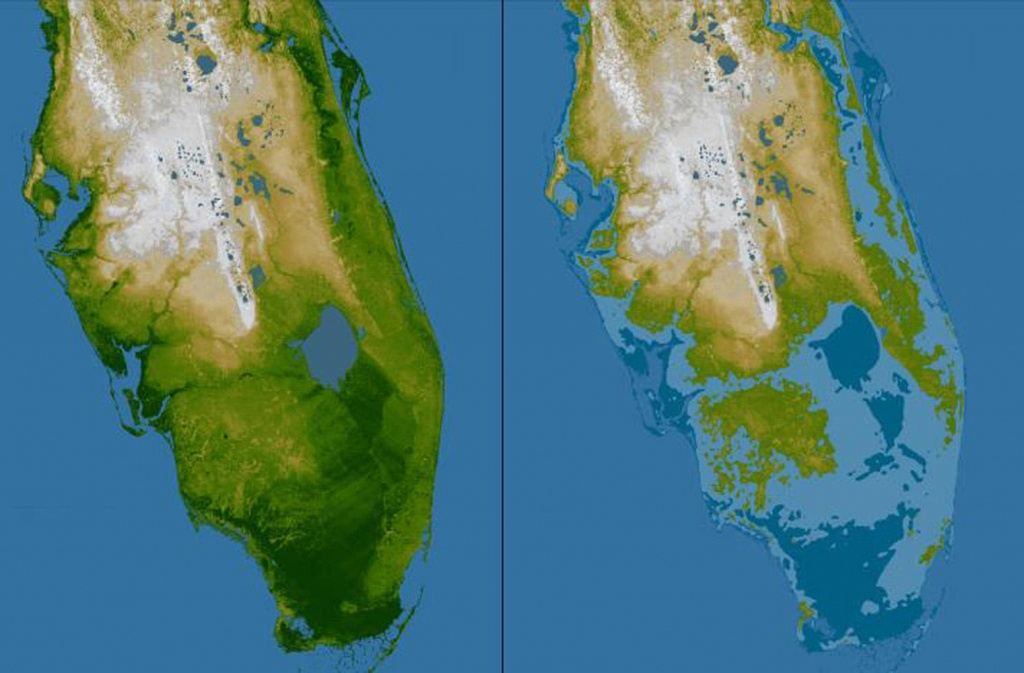 Rising Seas May Mean Tampa Bay Floods Even During Sunny Days | Wusf News - Florida Water Rising Map