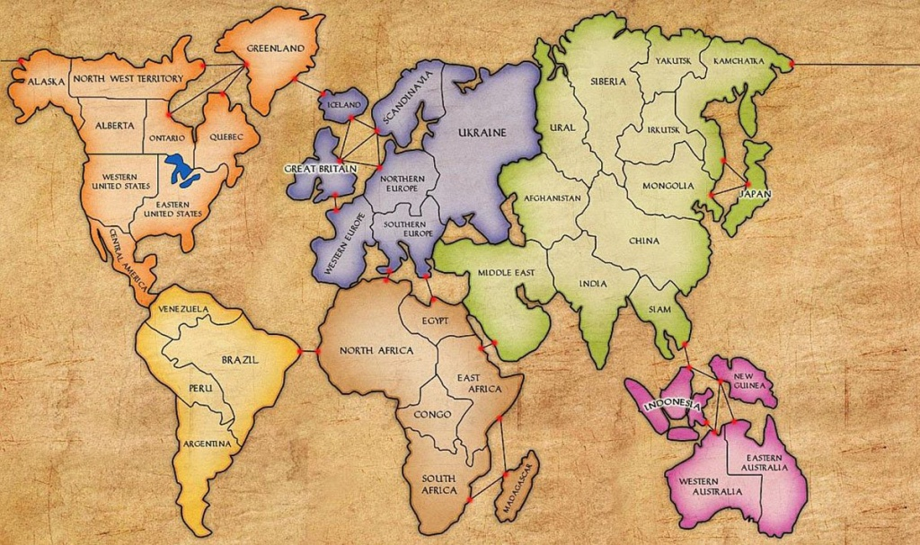 Risk Board North Africa Map | Biofocuscommunicatie - Risk Board Game Printable Map