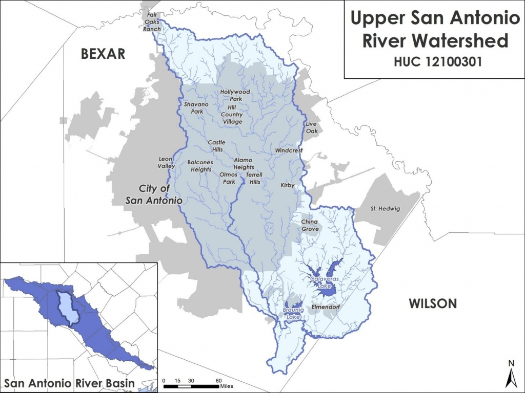 Risk Map - Texas Creeks And Rivers Map