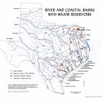 River In Texas Map And Travel Information | Download Free River In   Texas Waterways Map