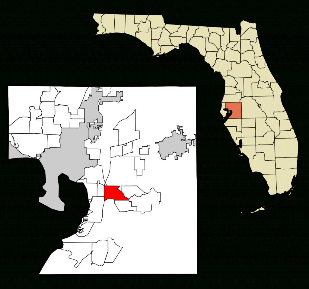 Riverview, Florida - Wikipedia - Riverview Florida Map
