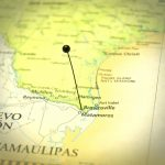 Road Map Of Brownsville Texas And Matamoros Mexico   Gulf Coast Eye   Map Of Brownsville Texas Area