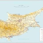 Road Map Of Cyprus | Tourist Map Of Cyprus | Maps Of Districts In Cyprus   Printable Map Of Cyprus