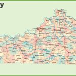 Road Map Of Kentucky With Cities   Printable Map Of Kentucky Counties