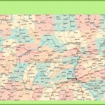 Road Map Of Pennsylvania With Cities   Printable Road Map Of Pennsylvania