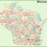 Road Map Of Wisconsin With Cities   Printable Map Of Wisconsin Cities