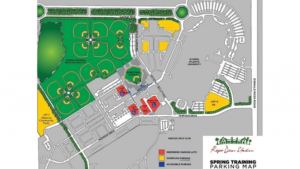Roger Dean Chevrolet Stadium   Miami Marlins - Map Of Spring Training Sites In Florida