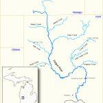 Rogue River (Michigan)   Wikipedia   Michigan River Map Printable