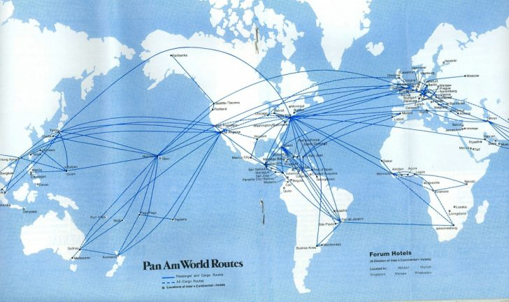 Alaska Airlines Printable Route Map
