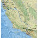 Route Of California High-Speed Rail - Wikipedia - California Destinations Map