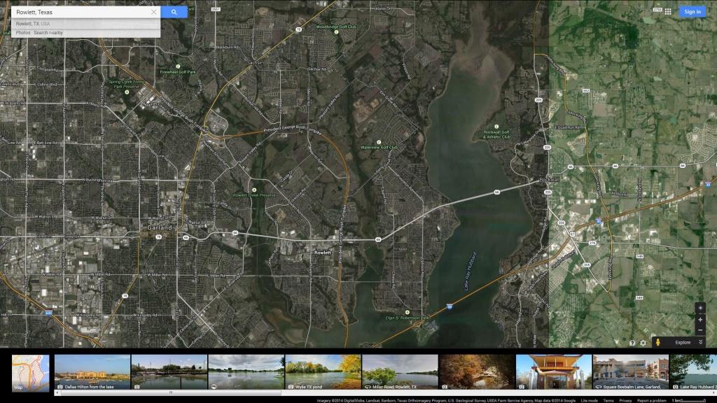 Rowlett Texas Map - Rowlett Texas Map