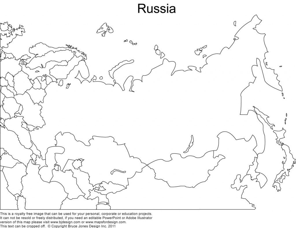 Russia Printable Copy Blank Outline Maps - Berkshireregion - Russia Map Outline Printable