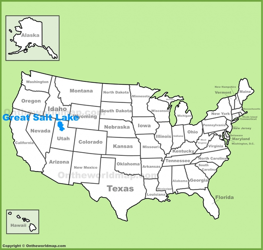 Salt Lake City Map Great Location On The Us | D1Softball - Map Of Lake City Florida And Surrounding Area