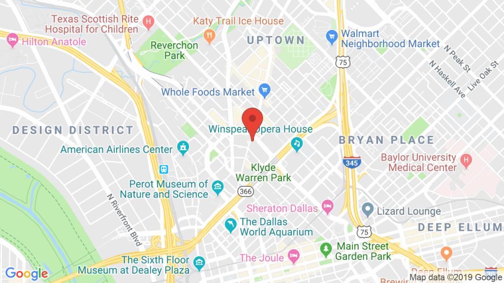 Sambuca Dallas Uptown In Dallas, Tx - Concerts, Tickets, Map, Directions - Baylor Hospital Dallas Texas Map