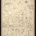 San Antonio Map Of San Antonio Street Map Wall Art Decor City Texas - Detailed Map Of San Antonio Texas