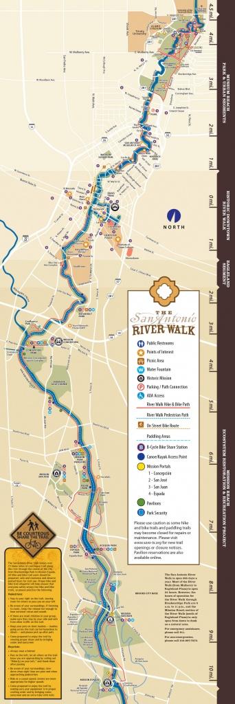 San Antonio Riverwalk Map - Map Of Hotels In San Antonio Texas