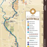 San Antonio Riverwalk Map   Map Of Hotels Near Riverwalk In San Antonio Texas