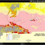 San Bernardino City Map And Travel Information | Download Free San - Map Of San Bernardino County California