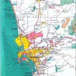 San Diego California City Map – Map Of Usa District - City Map Of San Diego California